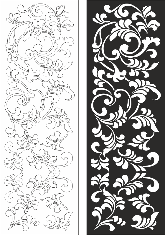 Floral Pattern Free Vector Cdr Download 3axis Co