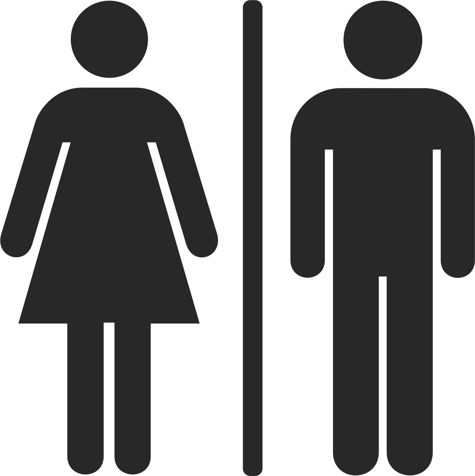 toilet man and woman sign free vector cdr download - 3axis.co  3axis.co