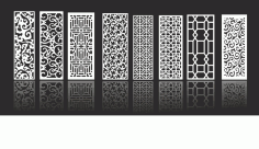 Decorative Screen Collection CDR File