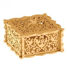 Wooden Jewelry Box DXF File