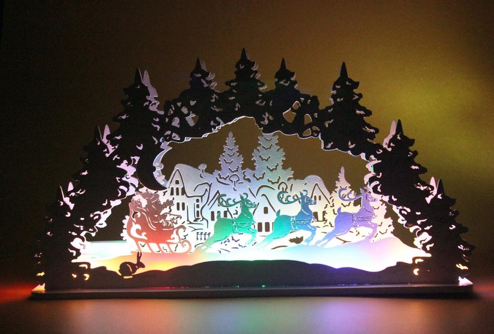 Laser Cut Christmas Santa Snowman Elk Lamp Night Light Desktop Xmas Decor Free Vector Cdr Download 3axis Co