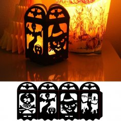 Halloween Lamp dxf File