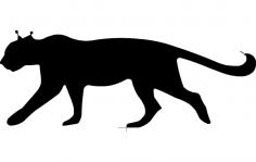 Laser Cat dxf File