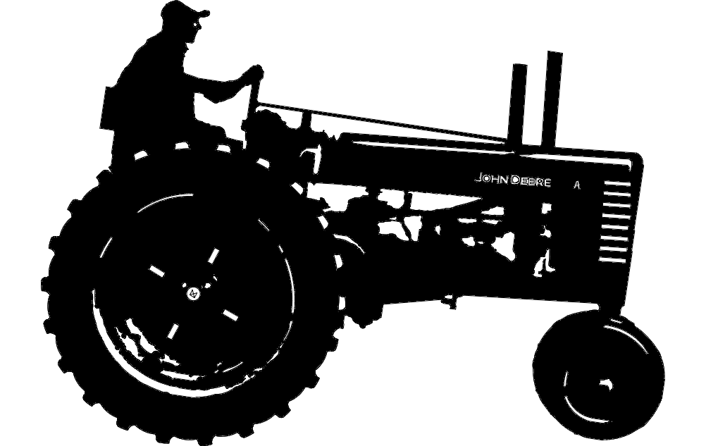 john deere 1 tractor dxf file free download 3axis co Lawn Mower Clip Art Riding Lawn Mower Clip Art