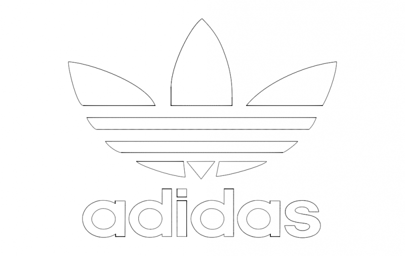adidas logo dxf file free download 3axisco