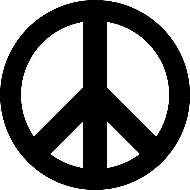 peace sign pacific vector free vector cdr download