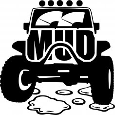 Mud Offroad Sticker CDR File