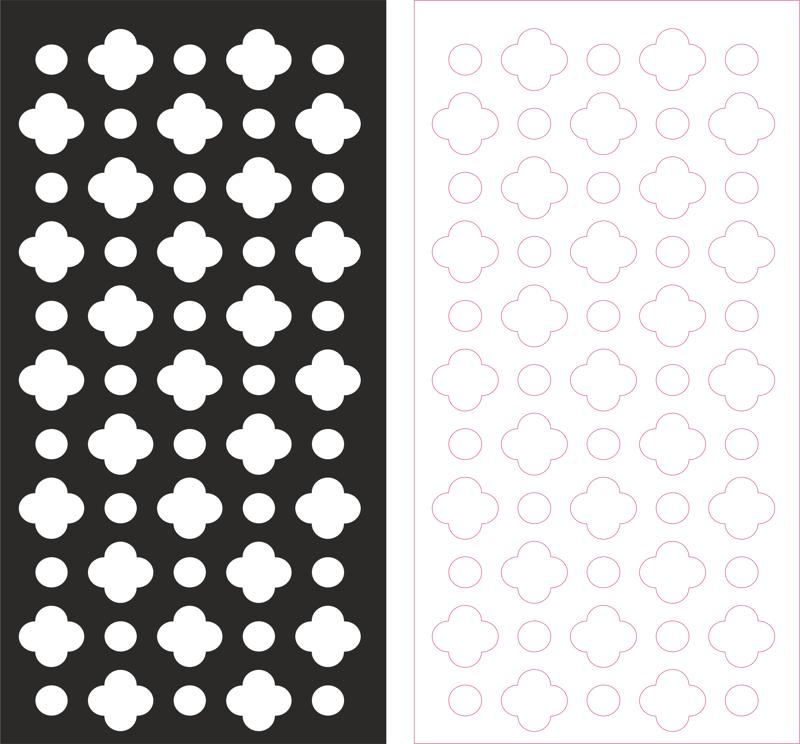 laser cut pattern vector dxf file free download