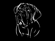 French Mastiff dxf File