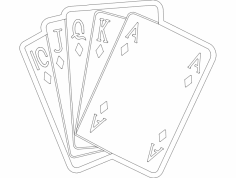 Cards 1 dxf File