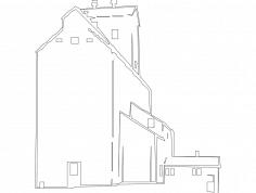 Grain Elevator dxf File
