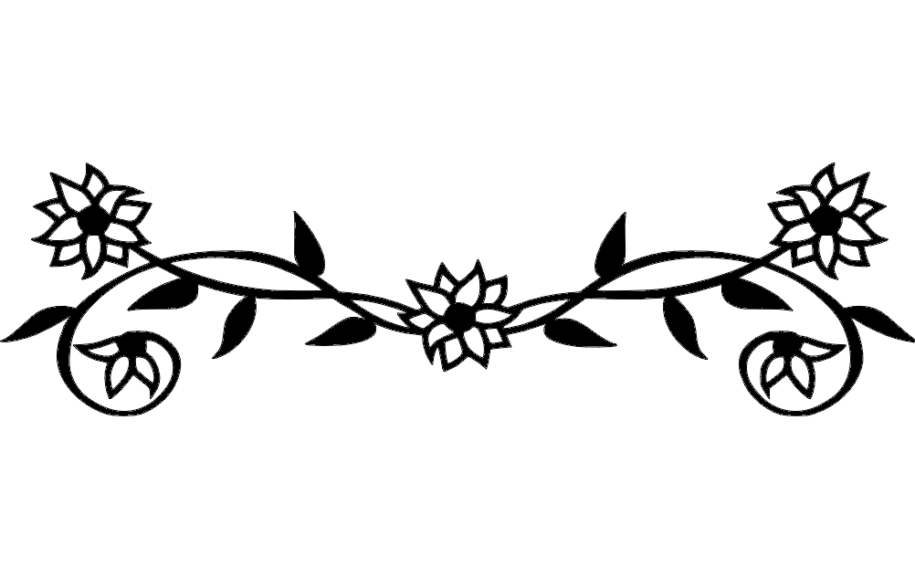 Flowers Dxf File Free Download 3axis Co