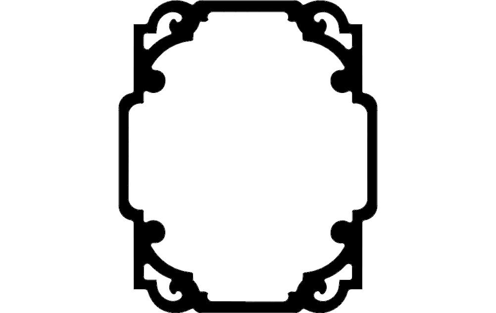 Decor 3 dxf File