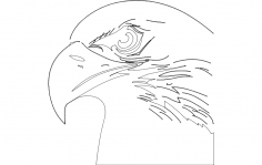 Eagle Head dxf File