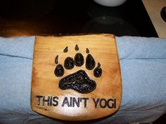 This ain't Yogi dxf File