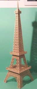 Eiffel Tower dxf