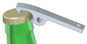 keychain bottle opener dxf file free download. Black Bedroom Furniture Sets. Home Design Ideas