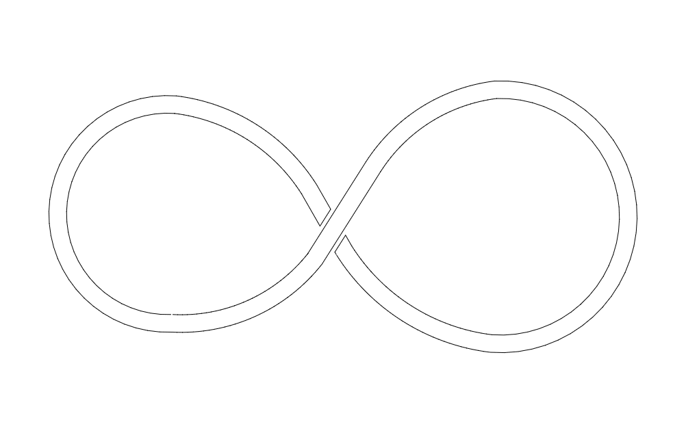 Infinity Symbol Dxf File Free Download 3axis Co