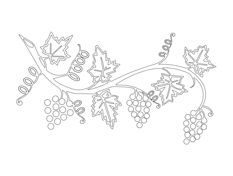 Grape Vine Dxf File Free Download 3axis Co