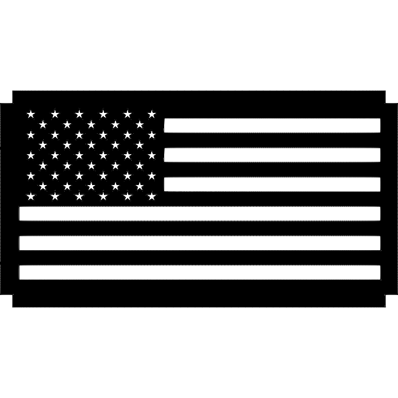 Wood flag dxf File