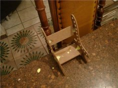 Cadeira Lapis dxf File