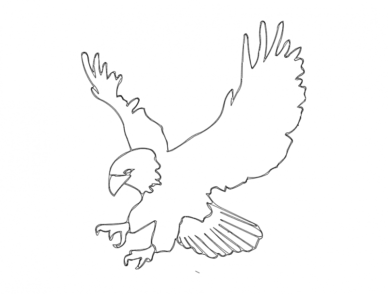 Eagle dxf File Free Download - 3axis co