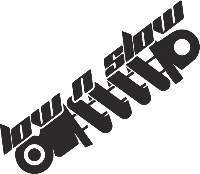 low n slow sticker vector free vector cdr download