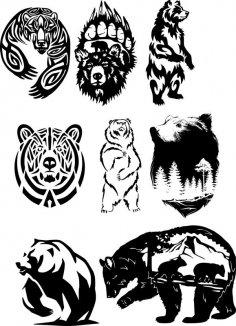 Wildlife Vector Art CDR File