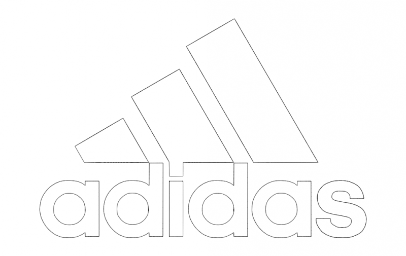 Adidas Logo Vector Dxf File Free Download 3axis Co