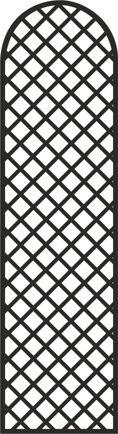 Simple Door Grill Design Vector CDR File