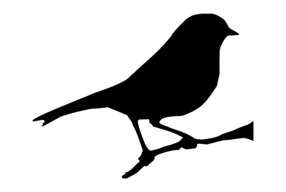 7 u00d76 bird on branch dxf file free download
