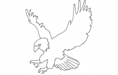 Eagle 4 dxf File