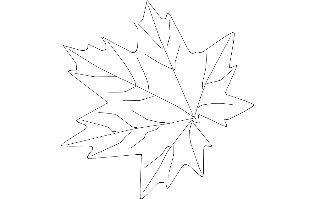 Maple Leaf Dxf File Free Download 3axis Co