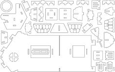 Fantasy Villas 1 dxf file