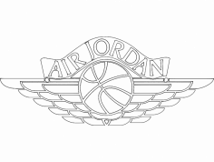 Air Jordan 2 dxf File