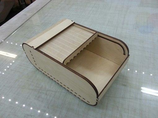 Rolltop Box Lasercut Cnc Template Free Vector Cdr Download