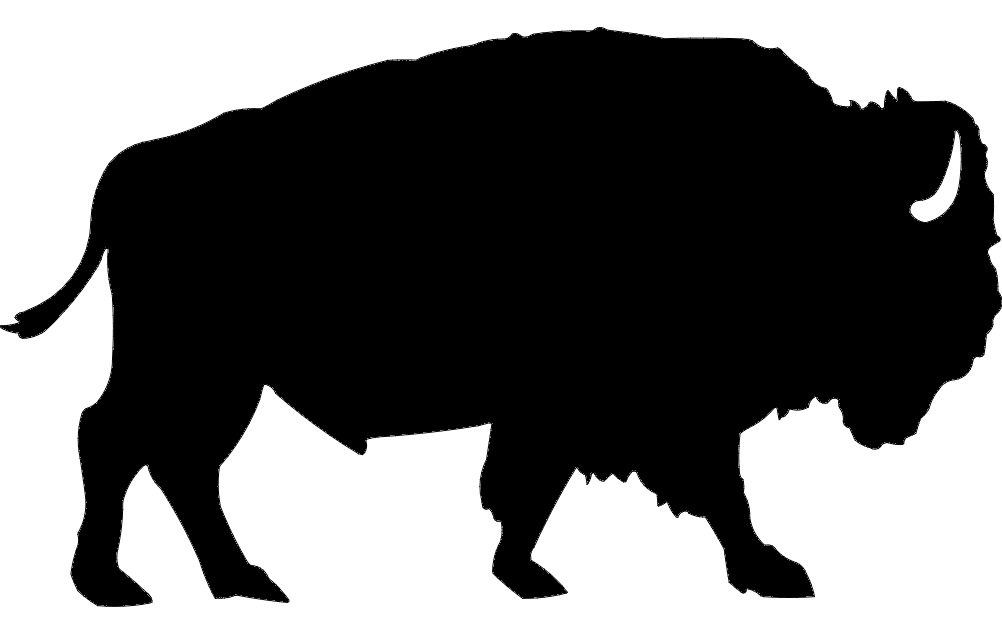 Buffalo Silhouette Dxf File Free Download 3axis Co