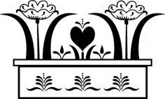 Flower Design EPS File