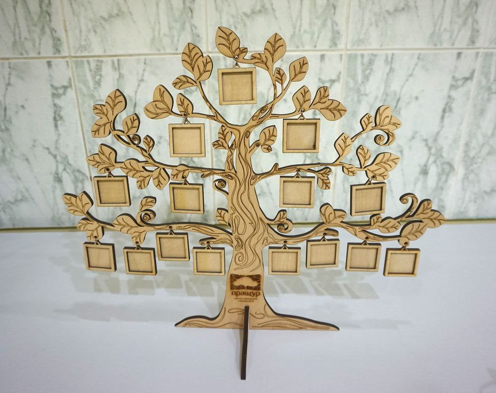 Laser Cut Tree Photo Frame Template Free Vector Cdr Download 3axis Co