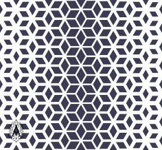 Decorative Seamless Geometric Pattern Background DXF File