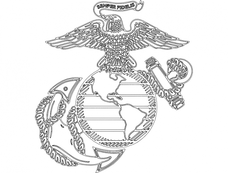 Marine Symbol Dxf File Free Download 3axis Co