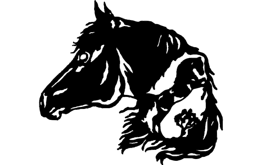 Horse Head 3 Dxf File Free Download 3axis Co