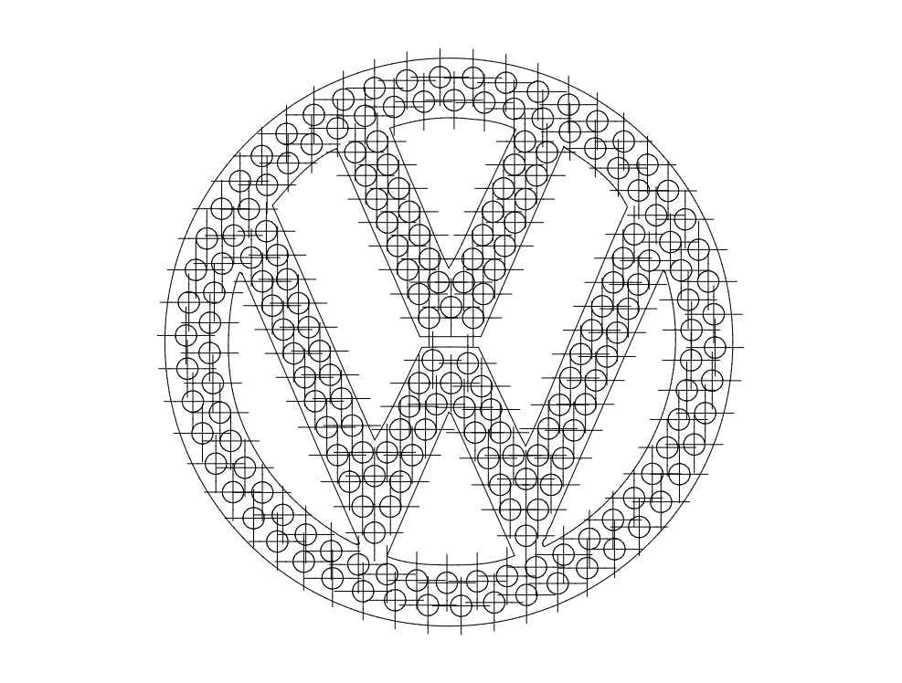 Vw Logo Dxf File Free Download 3axis Co