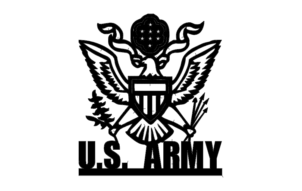 Us Army 2c Dxf File Free Download 3axis