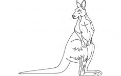 Kangaroo dxf File