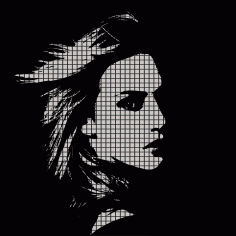 Woman Face Vector Illustration Free Vector
