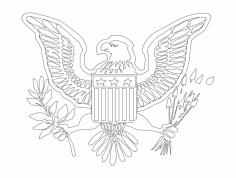 Eagle (1) dxf File