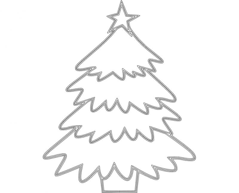 16+ Christmas Tree Files DXF