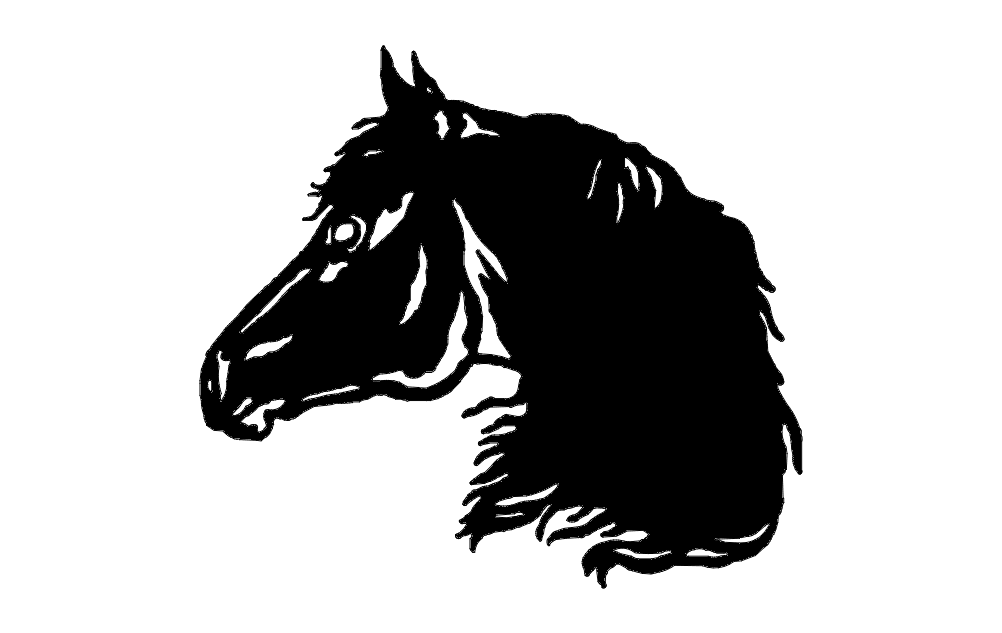 Horse Head Dxf File Free Download 3axis Co