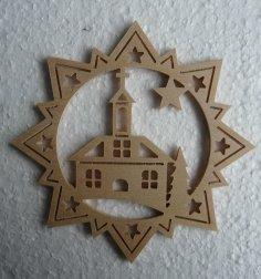 Stern Kirche dxf File